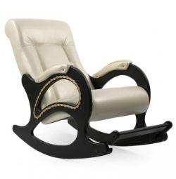 Koltuk sallanan sandalyeyle footrest