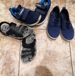 Обувь детская 30 р-р, за все