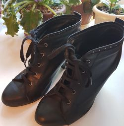 Leather Zara Ankle Boots