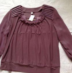 New women's blouse r 58-60