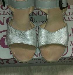 Παπούτσια μέγεθος καλοκαιριού 37