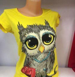 T-shirts and T-shirts