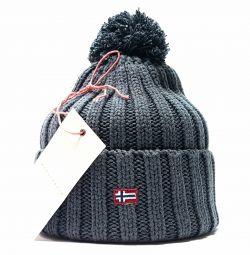 Hat Napapijri Geographic (gray)