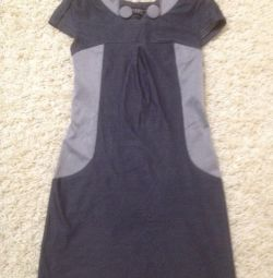 The dress is 40-42 size