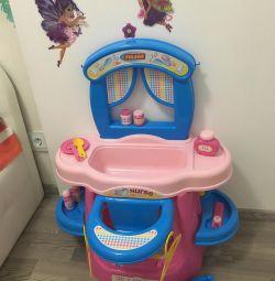 Centrul de joc Polesie Palau Nurse baby baie