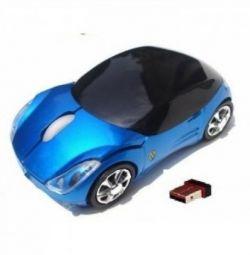 Wireless mice in the form of a car