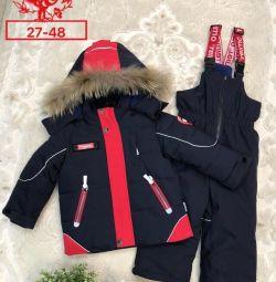 Новий зимовий мембранний костюм фірми Reimo