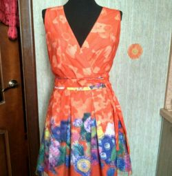 Φόρεμα κόκκινο Πλέγμα 3D VK.Rorm νέο