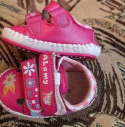 Footwear for kids.