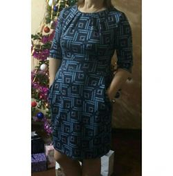 Selling dress, size 48-50.