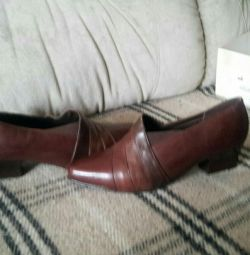 Shoes 41 size genuine leather