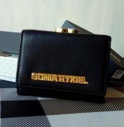 Δερμάτινο πορτοφόλι Sonia Rykiel