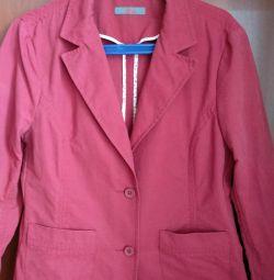 Фирменный пиджак 48р