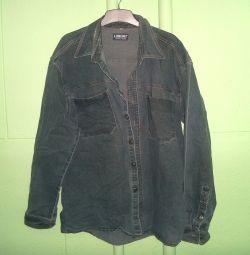 Джинсовая куртка LONGNO