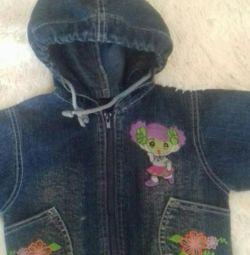 Denim jacket for girls
