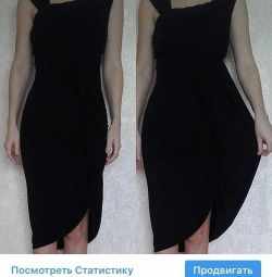 Sisley bodycon φόρεμα μαύρο viscose sarah