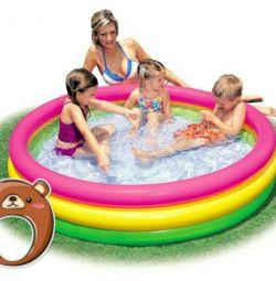 Rainbow pool different sizes