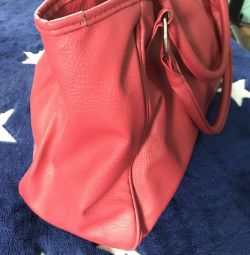 Women's red bag