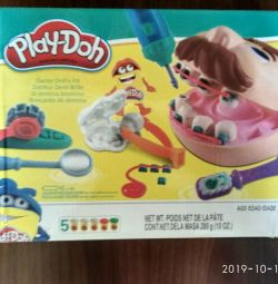 Set of plasticine Dentist New