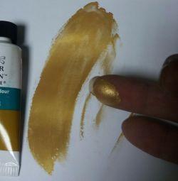 Akrilik boya (altın)