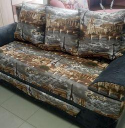 Armani's sofa