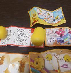 Кіндер іграшки пакетом