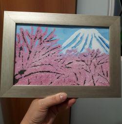 Картина Цвітіння сакури.