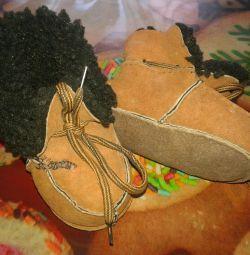 Пинетки и носочки. Обмен