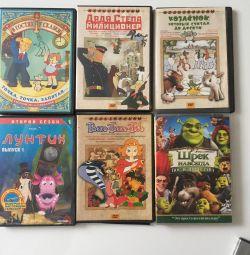 DVD κινούμενα σχέδια