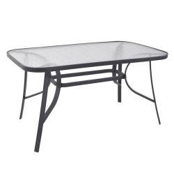 BRUNO TABLE METAL GREY 140X80X72 HM5106.01