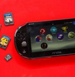 PS Vita - 4,8,16 GB. Games free