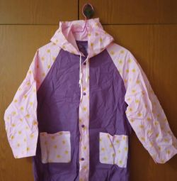 Children's raincoat.