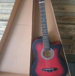 Cutout Acoustic Guitar