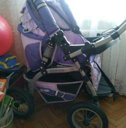 Stroller for children. Negotiable price