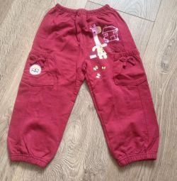 Paletli pantolon
