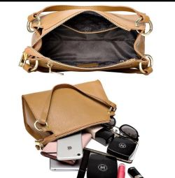 Handbag female genuine leather