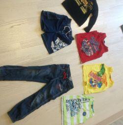 Пакет одягу від 104-116
