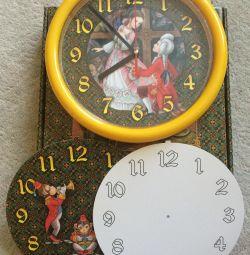 Ρολόι τοίχου στο φυτώριο. Νέο!