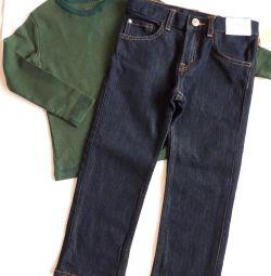 Новий джемпер і джинси H & M р.104 пакет