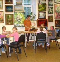 Уроки живописи для детей и взрослых
