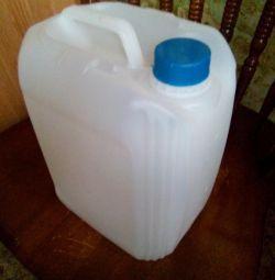 canistră de 5 litri. (Nou).
