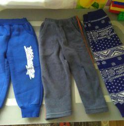 Pantaloni pe lînă