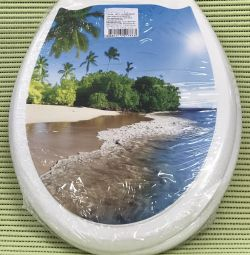 Toilet seat photoprint