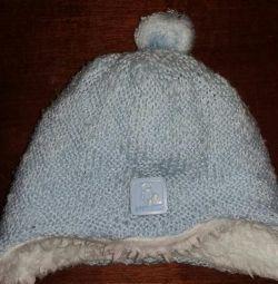 Cap for the newborn winter