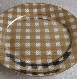 Πιάτο πορσελάνης (27 εκ.) Νέο
