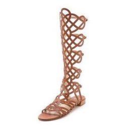 Stuart Weitzman καλοκαιρινές μπότες, δέρμα