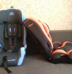 New 9-36 kg car seat with tilt adjustment
