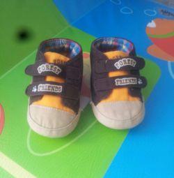 Αθλητικά παπούτσια, βαμβακερά παντελόνια για μωρό