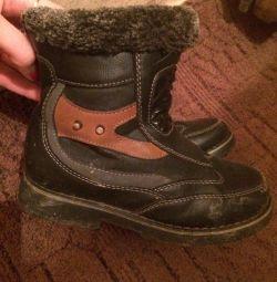 Θα δώσω μπότες φυσικό χειμώνα