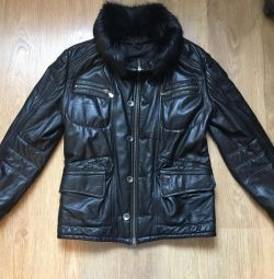 Leather jacket Emilio Mazzini winter
